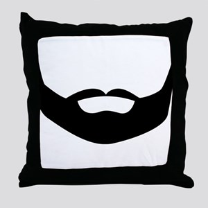 Beard Throw Pillow