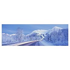 Alyeska Highway AK Poster