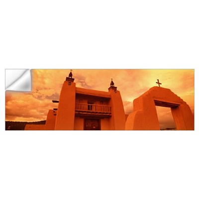 Las Trampas Church Las Trampas NM Wall Decal