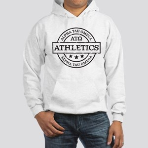 Alpha Tau Omega Athletics Person Hooded Sweatshirt