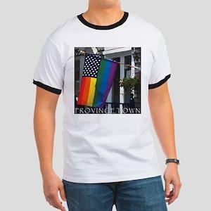 10x10_PTownFlagF.pn... T-Shirt