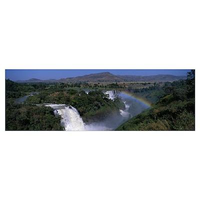 Blue Nile Falls Near Lake Tana Ethiopia Africa Poster