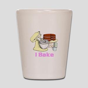 I Bake Shot Glass