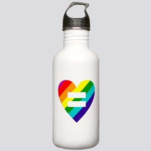 Rainbow love equals lo Stainless Water Bottle 1.0L