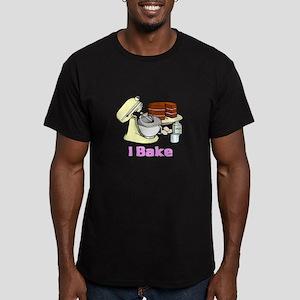 I Bake Men's Fitted T-Shirt (dark)