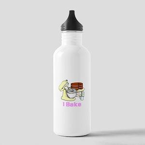 I Bake Stainless Water Bottle 1.0L