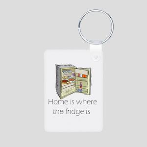 The Fridge Aluminum Photo Keychain