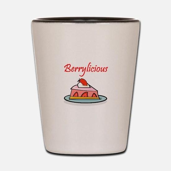 Berrylicious Shot Glass