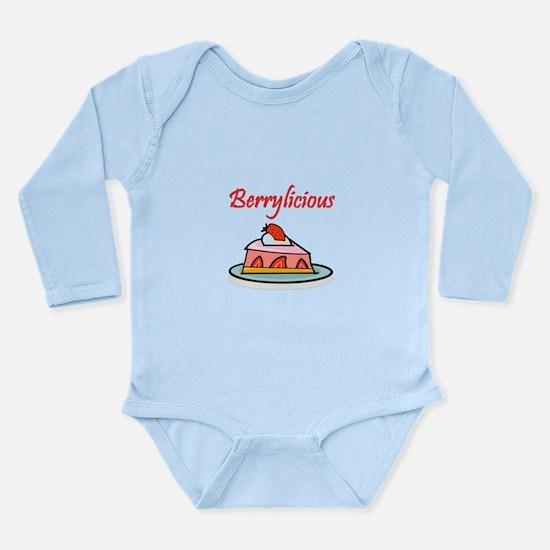 Berrylicious Long Sleeve Infant Bodysuit