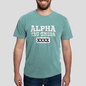 Alpha Tau Omega Athlet Mens Comfort Color T-Shirts