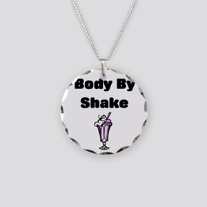 Body by Shake Necklace Circle Charm