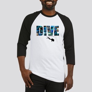 dive in pics copy Baseball Jersey
