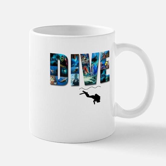 dive in pics copy.jpg Mugs