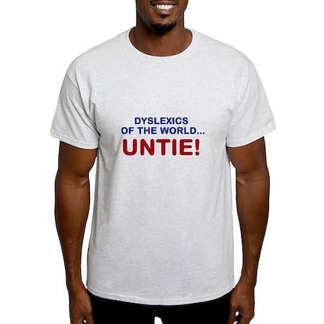 Dyslexics of the World Light T-Shirt