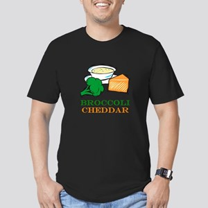 Broccoli Cheddar Soup Men's Fitted T-Shirt (dark)