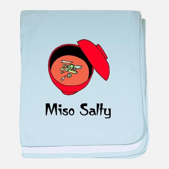 Miso Salty baby blanket