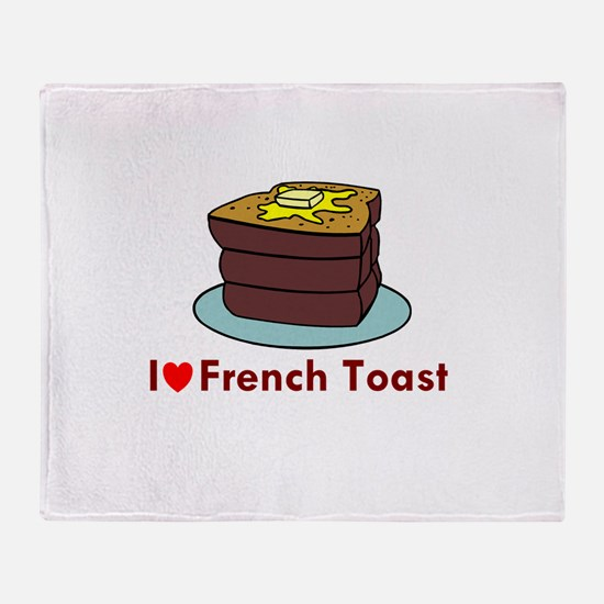 French Toast Throw Blanket