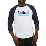 RetiredSeeYouOnBeach Baseball Jersey