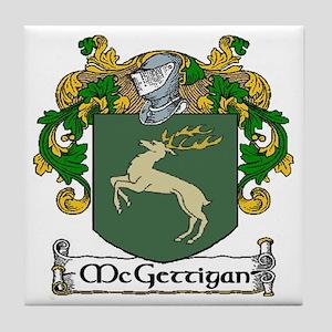 McGettigan Coat of Arms Ceramic Tile