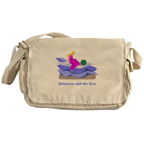 Princess and the pea Messenger Bag
