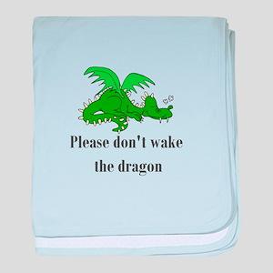 Sleeping Dragon baby blanket
