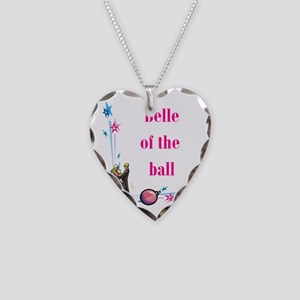 Belle of the Ball Necklace Heart Charm