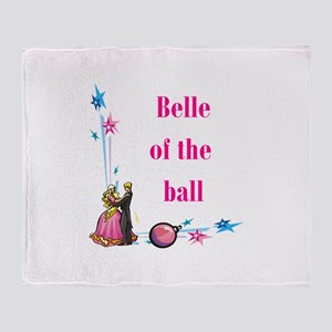 Belle of the Ball Throw Blanket