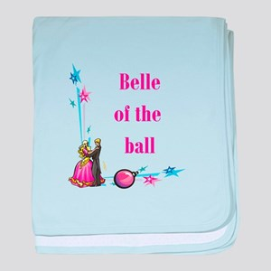 Belle of the Ball baby blanket