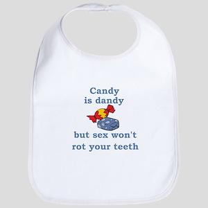 Candy is dandy Bib