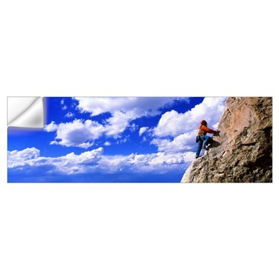 Rock Climbing Grand Teton National Park WY Wall Decal