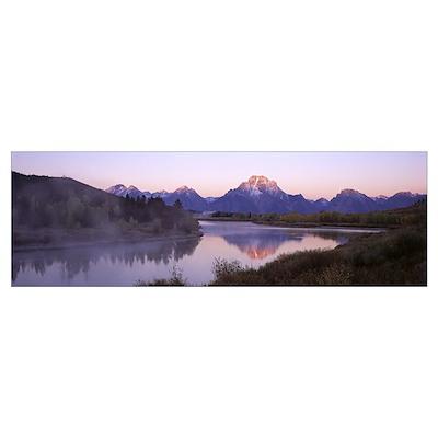 Grand Teton National Park WY Poster