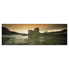 Eilean Donan Castle Scotland Poster
