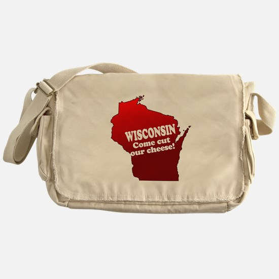 Come Cut Our Cheese Messenger Bag