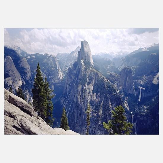 Half Dome High Sierras Yosemite National Park CA