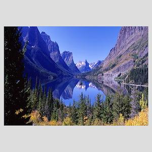 St Mary Lake Glacier National Park MT