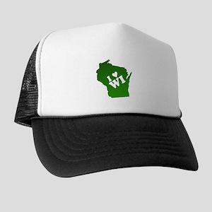 I heart Wisconsin Trucker Hat