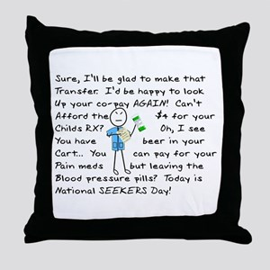 Pharmacy Throw Pillow