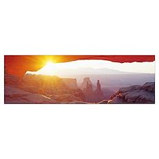 Sunrise Mesa Canyonlands National Park Utah Poster