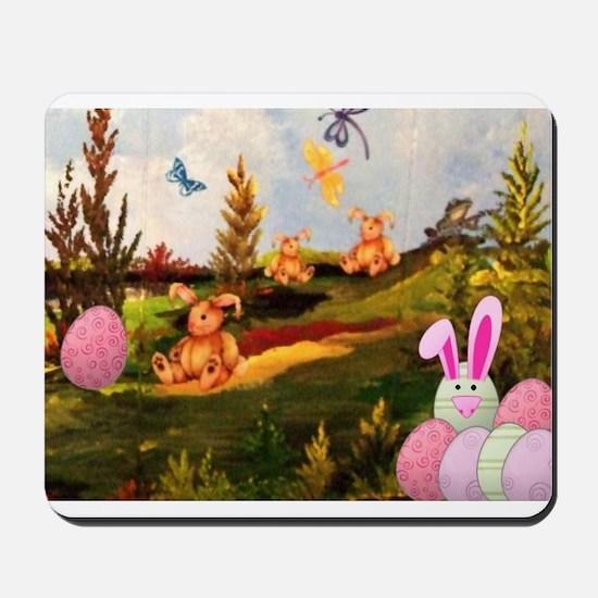 Easter Bunny Mousepad
