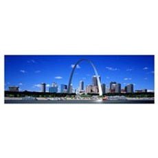 Skyline St Louis MO Framed Print
