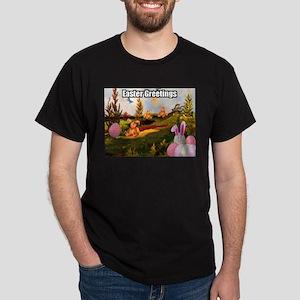 Easter Greetings Dark T-Shirt