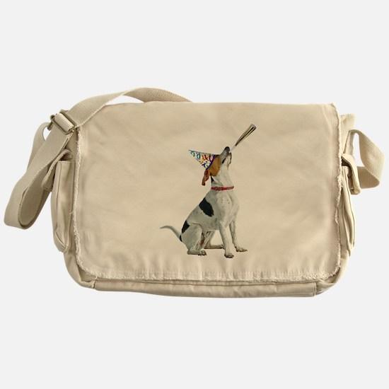 Foxhound Party Messenger Bag