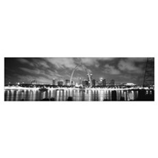 Evening St Louis MO Framed Print