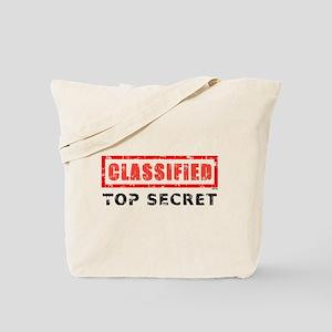 Classified Top Secret Tote Bag