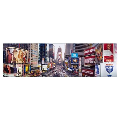 Dusk Times Square New York NY Canvas Art