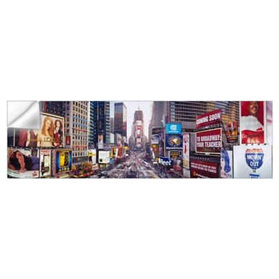 Dusk Times Square New York NY Wall Decal