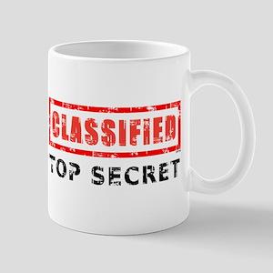 Classified Top Secret Mug
