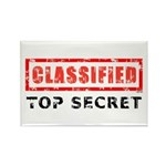 Classified Top Secret Rectangle Magnet (100 pack)