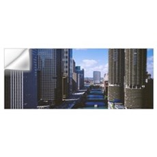 Illinois, Chicago, Chicago River Wall Decal