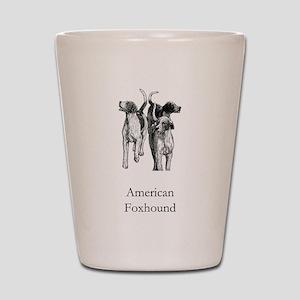 American Foxhound Shot Glass